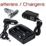 batteries and chargers for hunting lights and gear