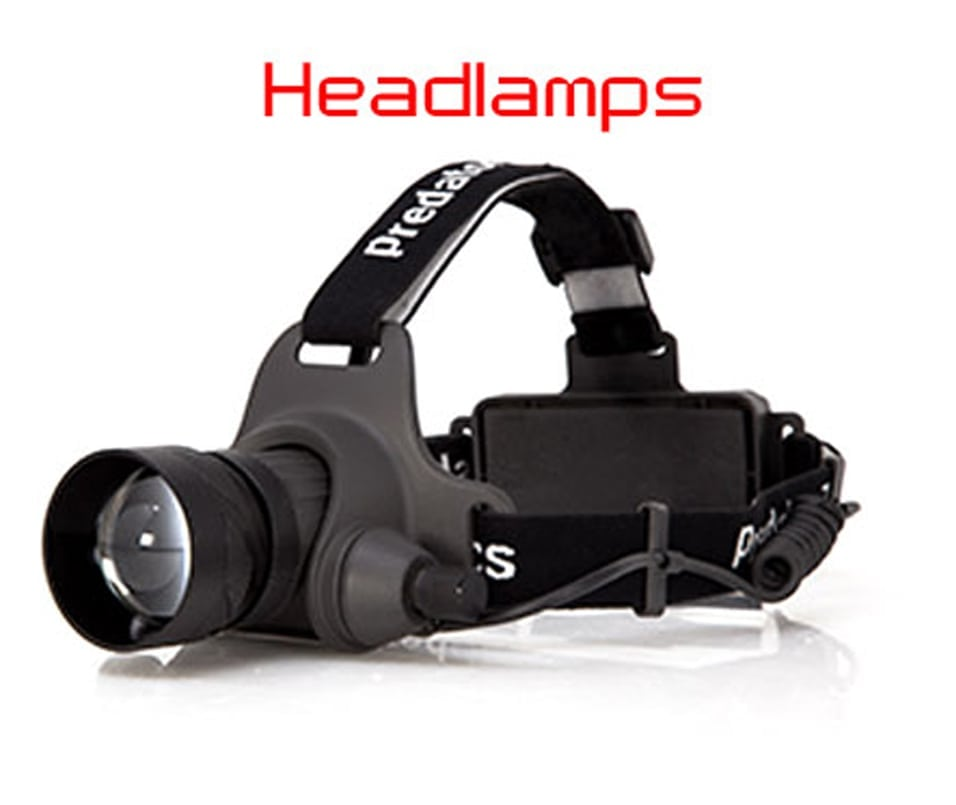 predator tactics hunting headlamp
