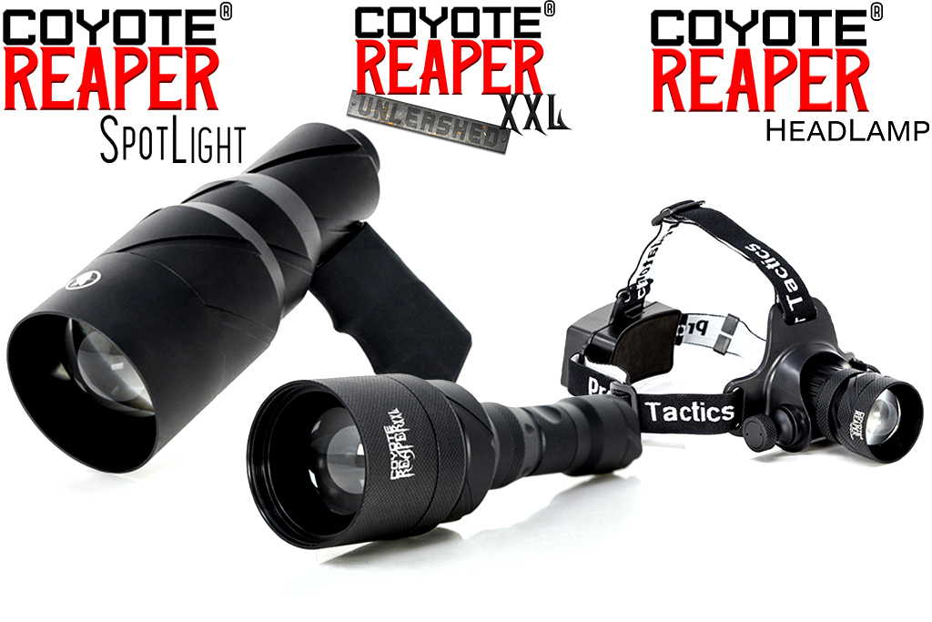 coyote reaper night hunting lights kit by predator tactics