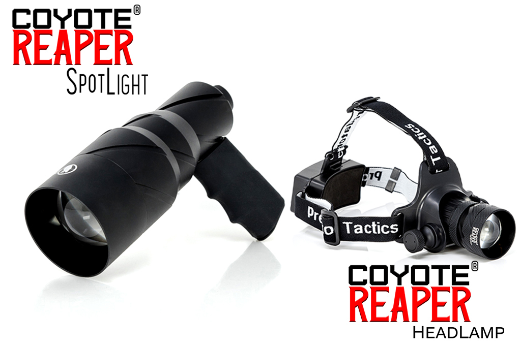 predator tactics coyote reaper scan light combo pack for coyote hunting