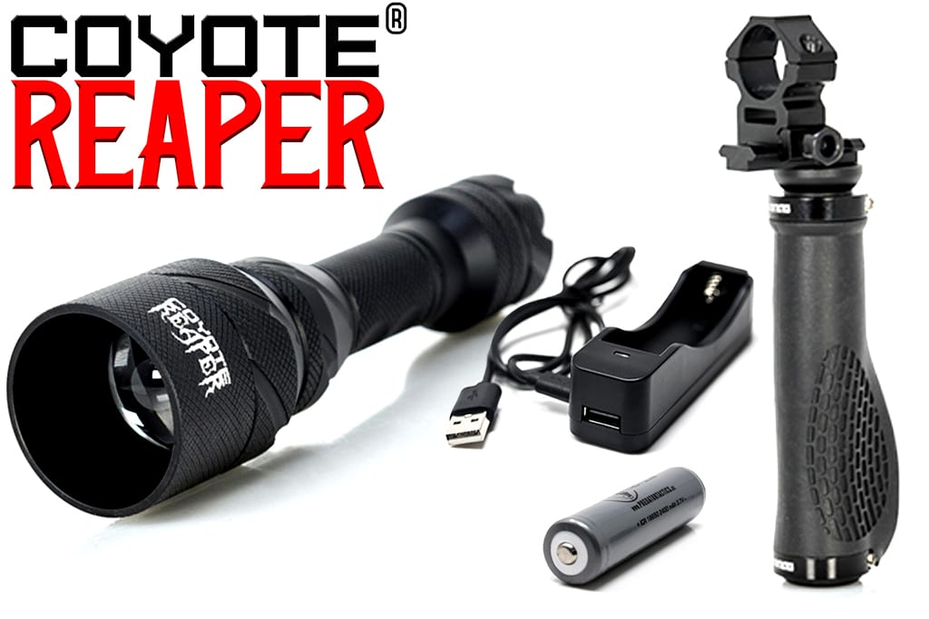 Coyote reaper scan light for coyote hunting at night