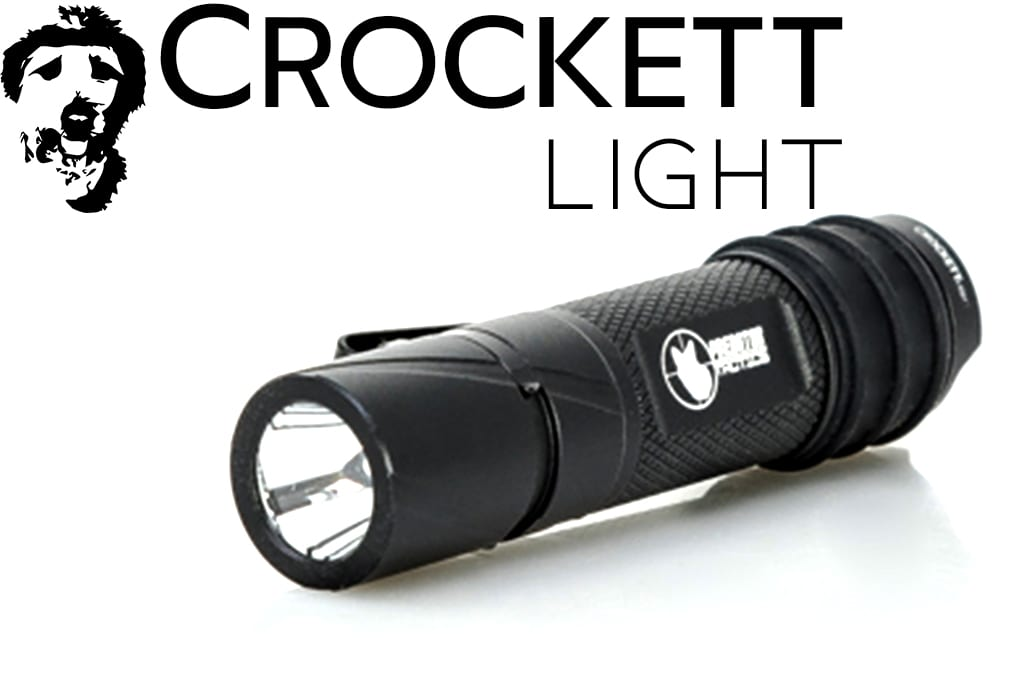 Predator tactics crockett hunting flashlight by predator tactics