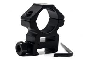 "predator hunting gear 1"" ring rail mount by predator tactics"
