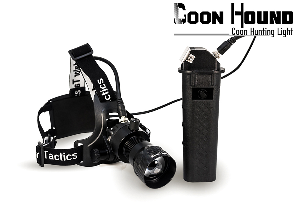 predator tactics coon hound coon hunting light kit to illuminate your prey